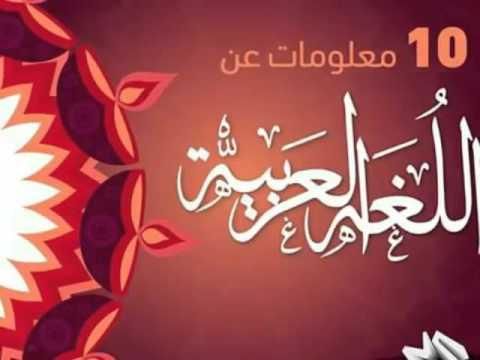 صورة معلومات عن اللغه العربيه , كل ما يخص اللغه العربيه
