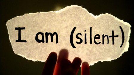 صورة صور عن الصمت , خلفيات حكم للصمت