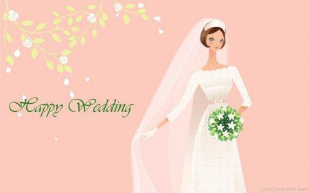 صورة كلمات للعروس من صديقتها , صور تهاني للعروس 5989 3