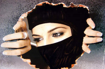 صورة صور بنات منقبات , اجمل منقبات بالصور