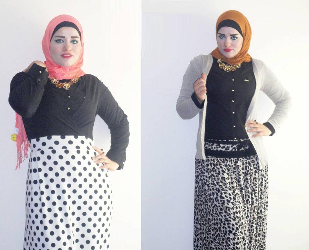 بالصور ملابس خروج للبنات المحجبات , موديلات حديثه لملابس الخروج للفتاة المحجبه 6566 6