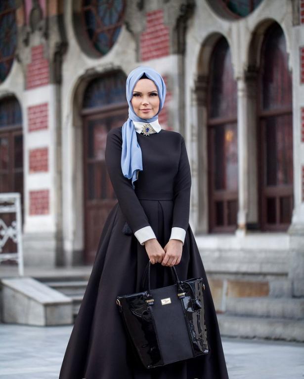 بالصور ملابس خروج للبنات المحجبات , موديلات حديثه لملابس الخروج للفتاة المحجبه 6566 8
