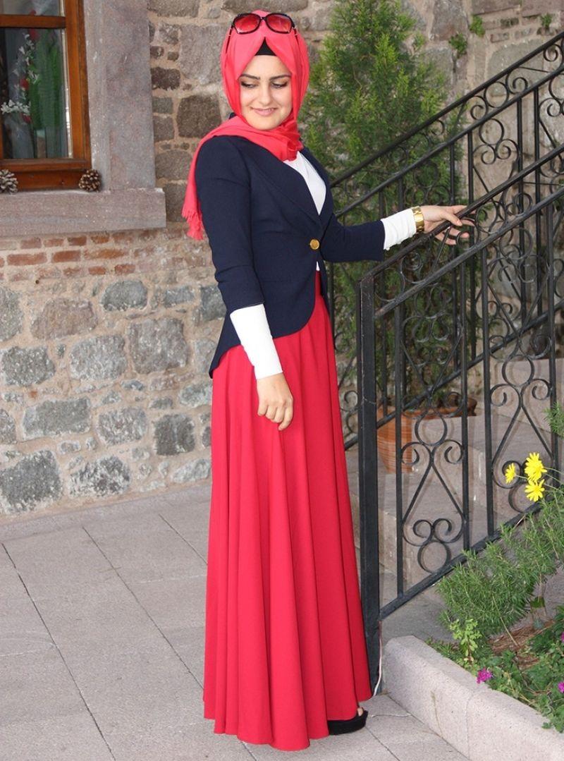 بالصور ملابس خروج للبنات المحجبات , موديلات حديثه لملابس الخروج للفتاة المحجبه 6566