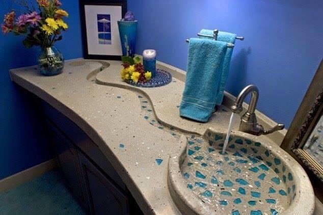 صورة ديكورات مغاسل يدين , ارقي الديكورات لتصميمات مغاسل يدين