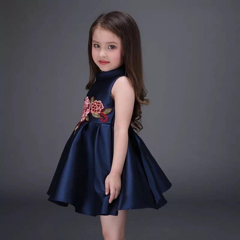 بالصور فساتين سواريه اطفال , احلي فساتين السهرة للبنات الصغار روعه 6638 5