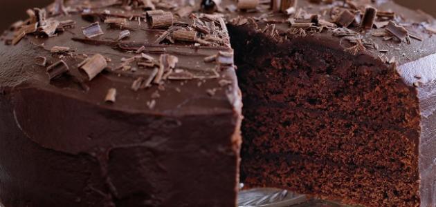 صورة طريقة عمل الكيك بالشوكولاتة سهلة , اسهل الطرق لعمل كيكه الشيكولاته حلوة اوي