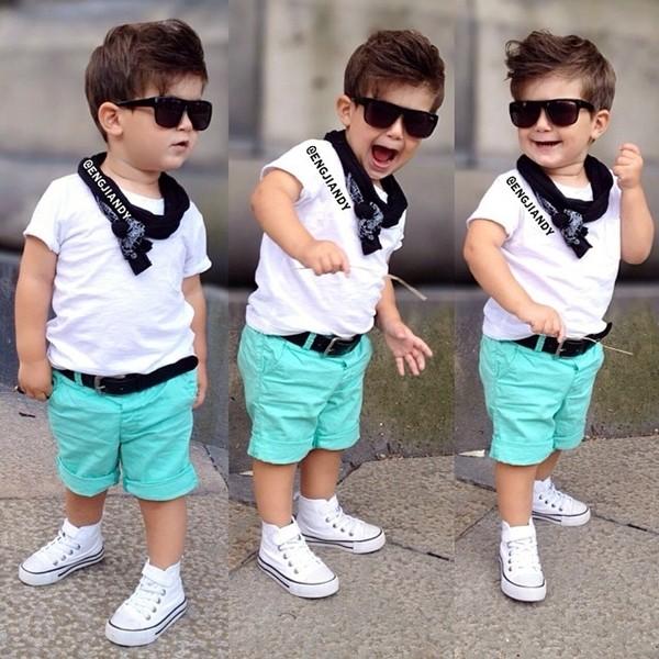 صورة ملابس اطفال اولاد , مجموعه من ملابس الاولاد الصغار اخر شياكه