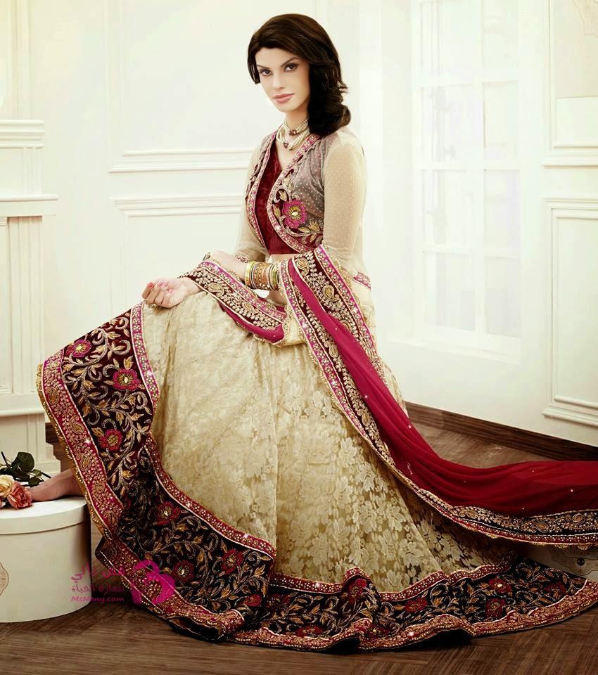 بالصور ازياء هندية , جمال التصميمات في الازياء الهنديه 6739 8
