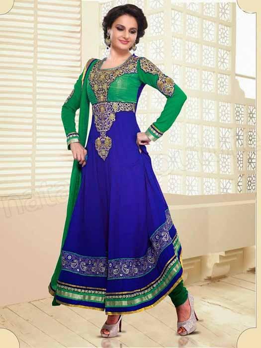 بالصور ازياء هندية , جمال التصميمات في الازياء الهنديه 6739 9