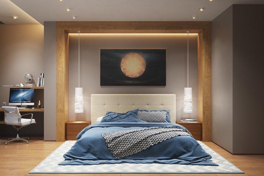 بالصور فنون في غرفة النوم , احدث ديكورات و تابلوهات مودرن 2709 8