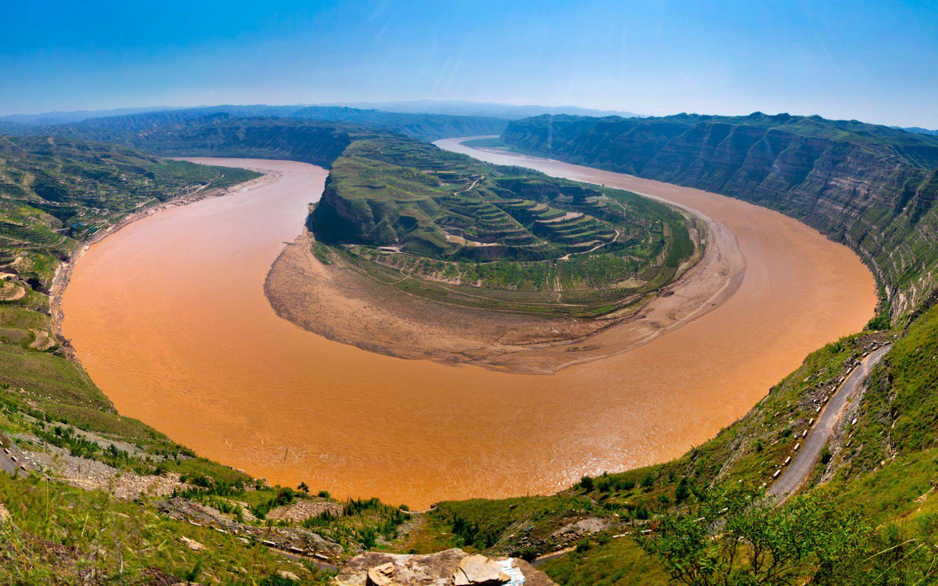 صورة اطول انهار العالم , الانهار الاكثر طولا حول العالم
