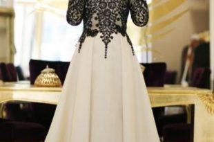 صورة اجمل الفساتين للمحجبات , فساتين محجبات 2019