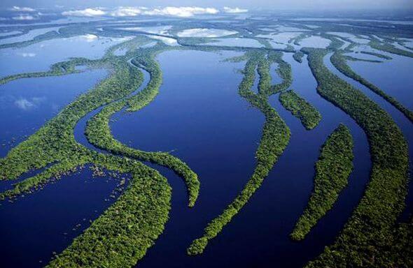 بالصور اكبر نهر في العالم , تعرف على اعظم الانهار 119 5