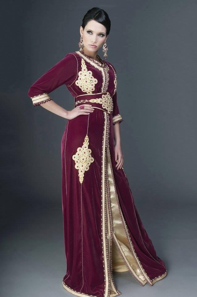بالصور قفطان تونسي , ازياء تونسية للعروس وهم 124 8