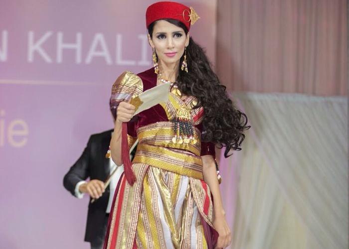 بالصور قفطان تونسي , ازياء تونسية للعروس وهم 124 9