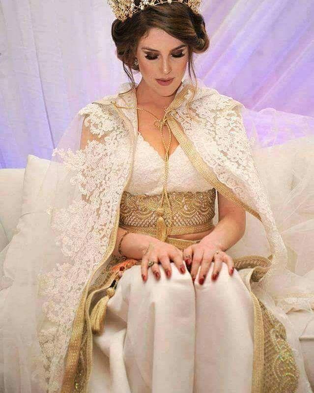 صوره قفطان تونسي , ازياء تونسية للعروس وهم