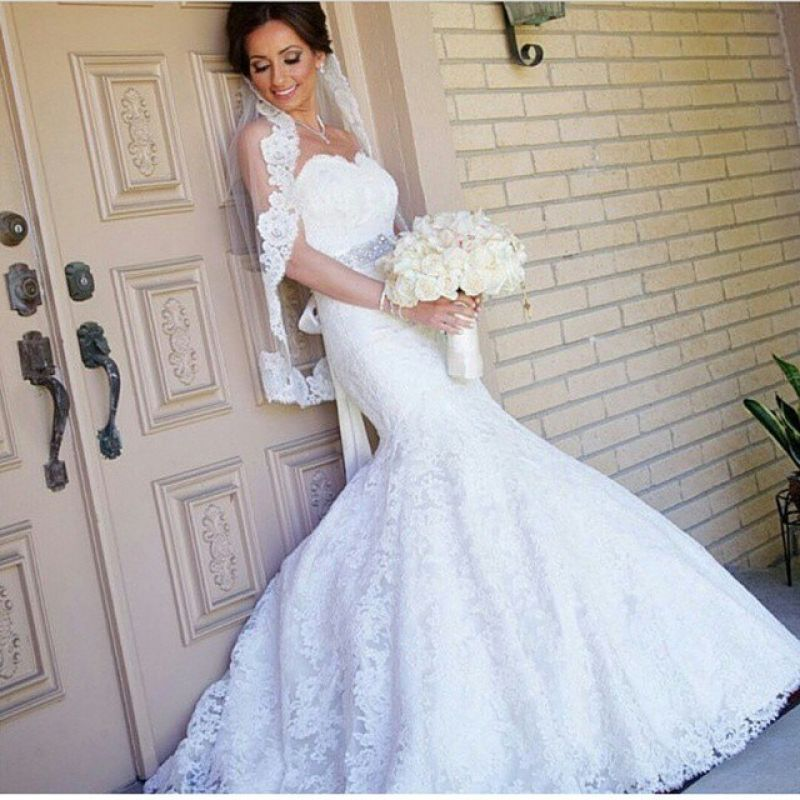 صوره صور بدلات اعراس , فستان زفاف لا يقاوم جماله