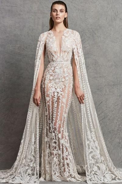 بالصور فساتين زفاف زهير مراد 2019 , اجمل فساتين زفاف 1293 4