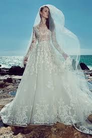 بالصور فساتين زفاف زهير مراد 2019 , اجمل فساتين زفاف 1293 8