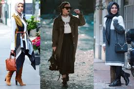 بالصور موضة شتاء 2019 للمحجبات , صور ملابس محجبات شتويه 1303 4