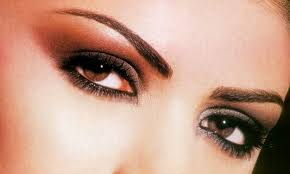 صورة مكياج عيون خليجي , مكياج رائع للعيون
