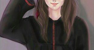 صورة صور بنات رسومات , اجمل صور بنات مرسومه