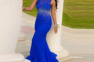 صورة فستان سهرة , اروع تشكيله من فساتين السهره