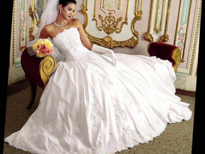 بالصور فساتين اعراس فخمه , افخم موديلات فساتين زفاف 2533 4
