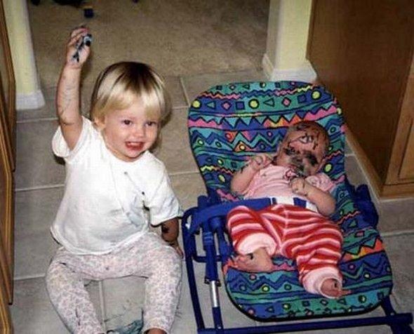 بالصور صور مضحكة للاطفال , صورة اجمل ضحكه لاجمل طفل 2543 3