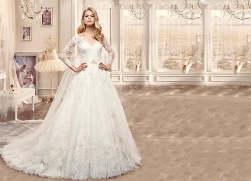 بالصور احدث فساتين الزفاف , اروع تشكيله فساتين الزفاف 2586 6