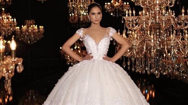 بالصور احدث فساتين الزفاف , اروع تشكيله فساتين الزفاف 2586 7