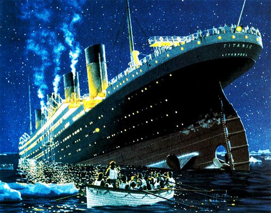 بالصور سفينة تيتانيك , تيتانيك اضخم سفينه فى العالم 2660 4