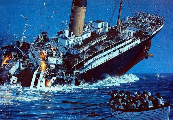 صوره سفينة تيتانيك , تيتانيك اضخم سفينه فى العالم