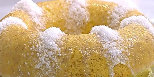 صور طريقة عمل كيكة جوز الهند , اسهل واسرع الطرق لكيكة جوز الهند
