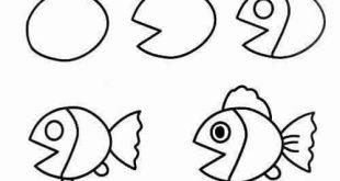 صوره رسومات سهله وحلوه , ابسط الطرق لتعلم فن الرسم