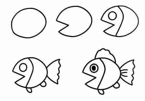صورة رسومات سهله وحلوه , ابسط الطرق لتعلم فن الرسم