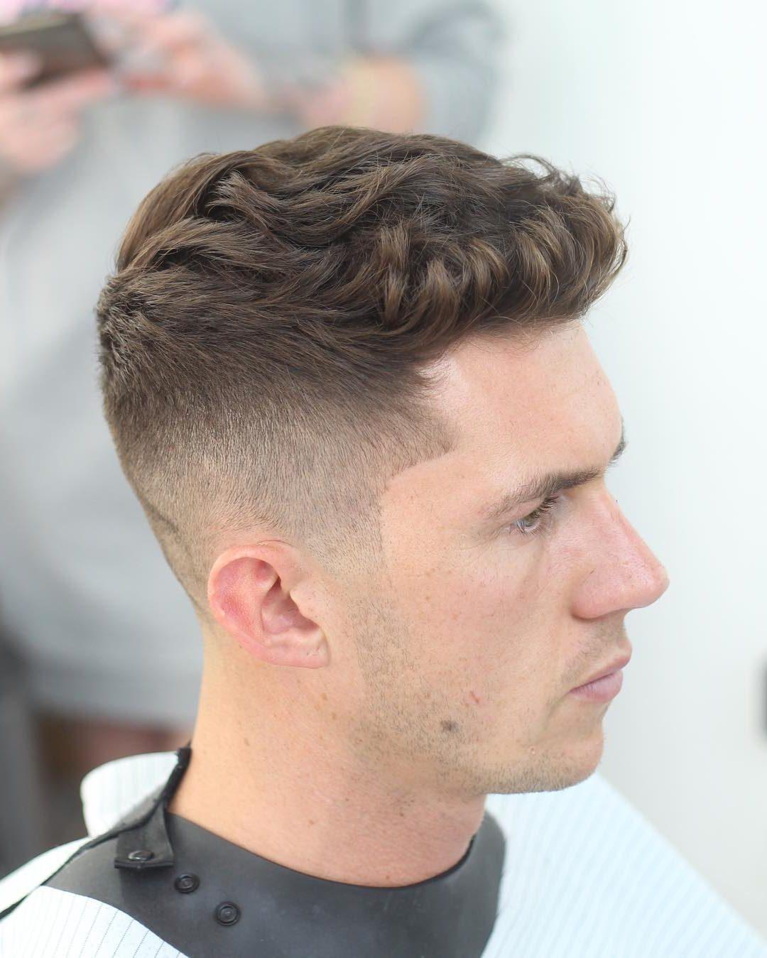 بالصور اجمل قصات الشعر للرجال , اشيك قصات شعر رجالى 5307 7