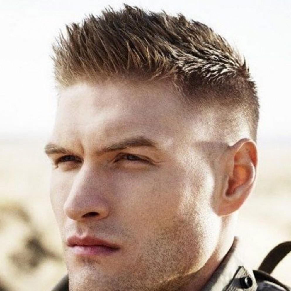 بالصور اجمل قصات الشعر للرجال , اشيك قصات شعر رجالى 5307 9