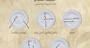 صورة اتيكيت الطعام , تعلم اتيكيت الطعام بسهولة
