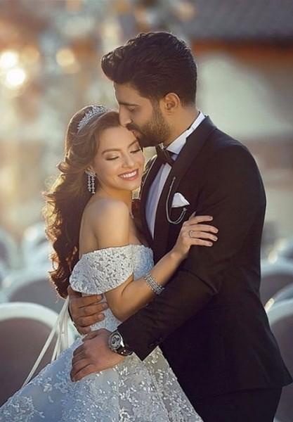 صور عروس وعريس اجمل صور للعروسين بنات كيوت