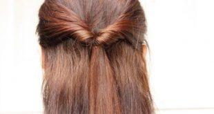 صوره تسريحات شعر بسيطة , اروع اشكال تساريح شعر بنات جديده