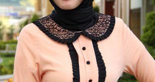 صوره صور حجابات , اجدد لفات الطرح لهذا العام