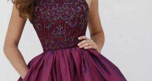 بالصور صور فساتين سهرة قصيرة , فستان رائع جدا وجديد لحضور حفلة 299 11 310x165