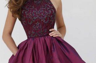 صورة صور فساتين سهرة قصيرة , فستان رائع جدا وجديد لحضور حفلة