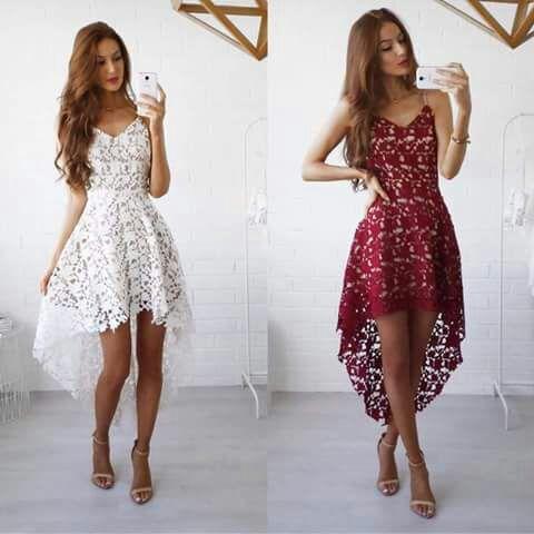صور فساتين سهرة قصيرة فستان رائع جدا وجديد لحضور حفلة بنات كيوت