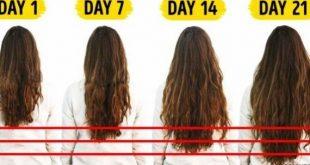 صور لتطويل الشعر , وصفة تزيد من شعرك في شهر واحد