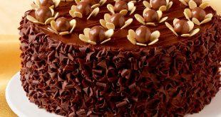 بالصور طريقة تزيين كيكة الشوكولاته , طريقة لتزين التورتة بسهولة وبدون تكاليف 403 2 310x165