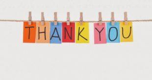 صوره عبارات شكر وامتنان , طريقة رفيعة المستوى لتقديم الشكر