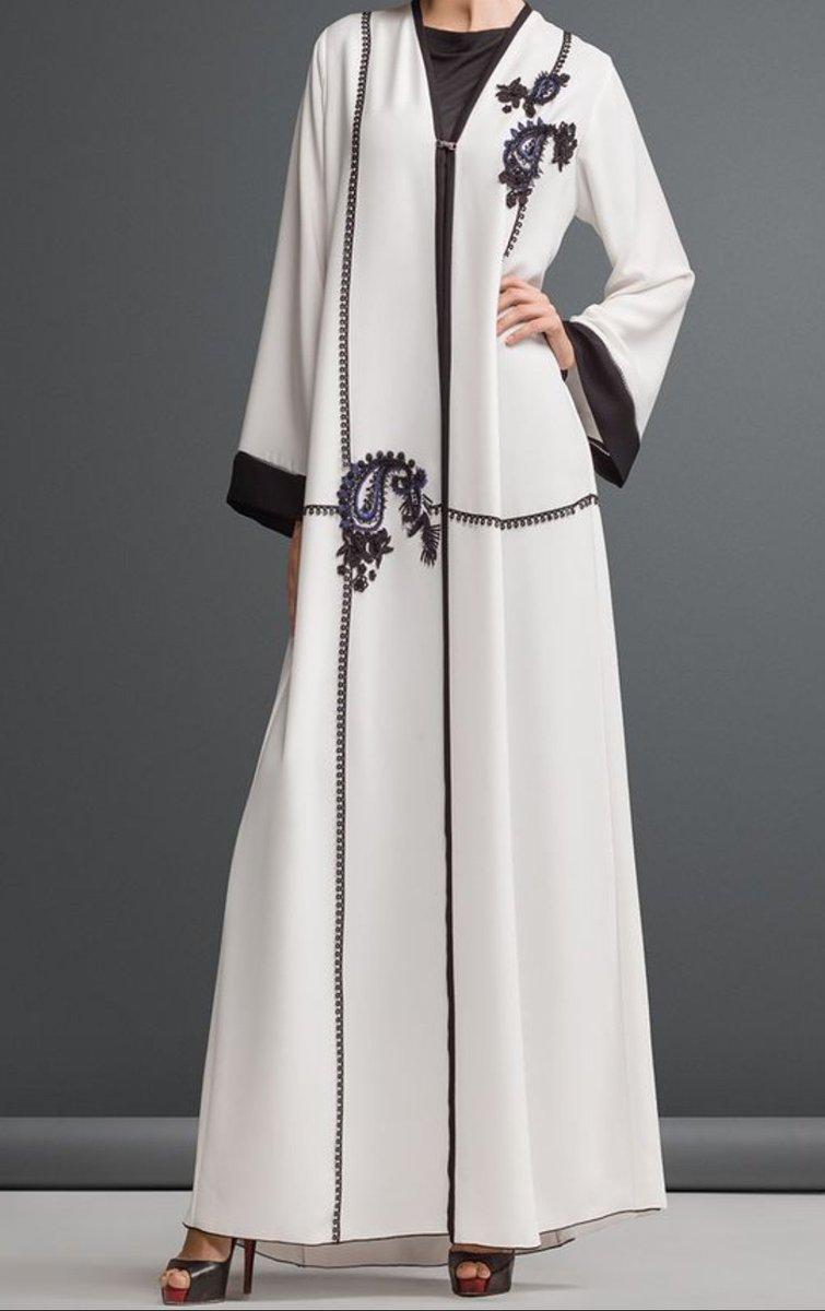 صورة عبايات كويتية , اجمل عبايات رائعة للفتيات 438 3