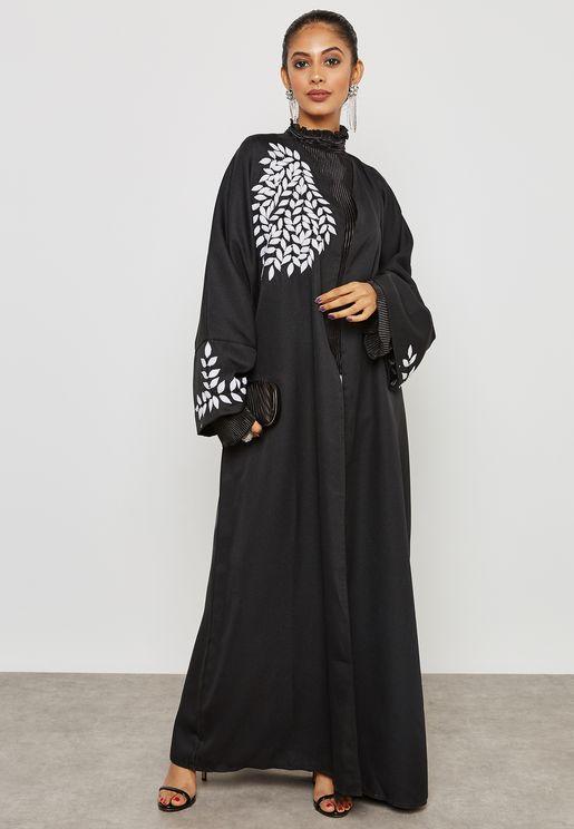 صورة عبايات كويتية , اجمل عبايات رائعة للفتيات 438 8